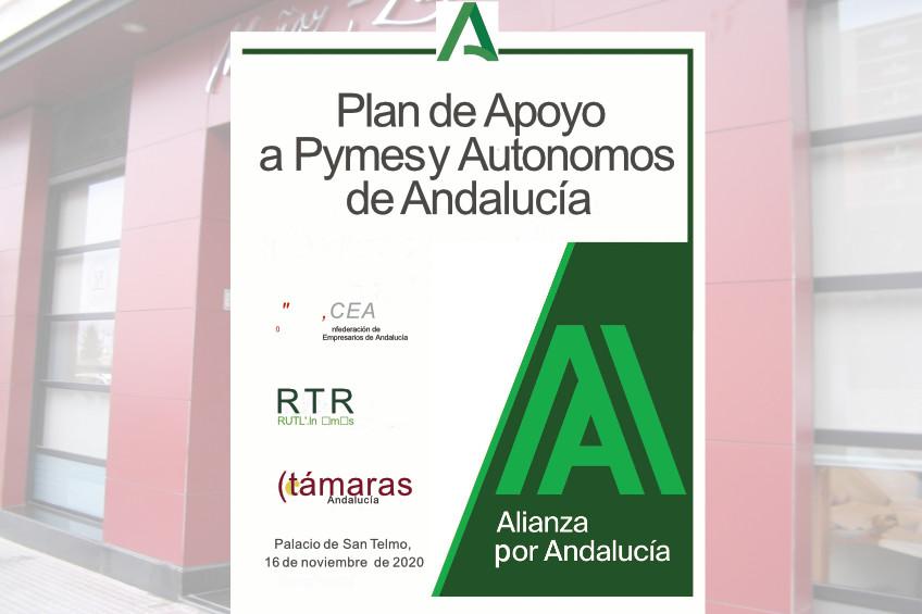 Ayudas para PYMES y autónomos Andalucía